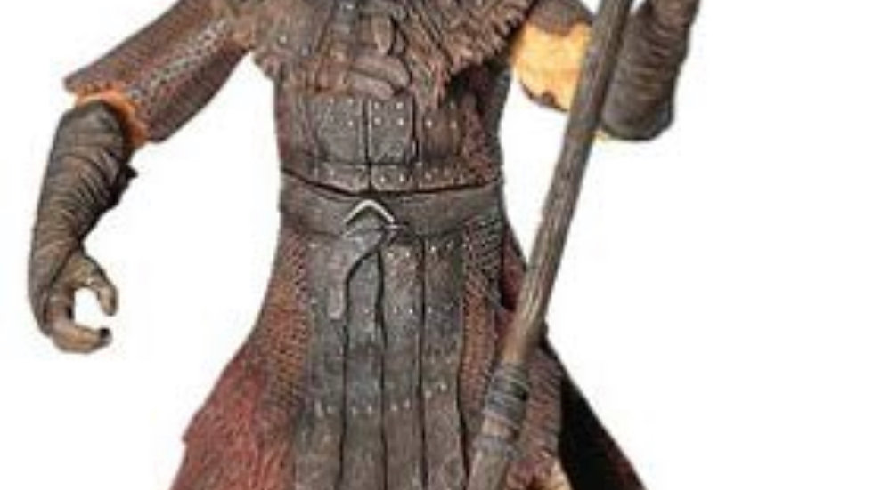 Lord of the Rings Trilogy Two Towers Action Figure Series 3 Isengard Orc with Ax