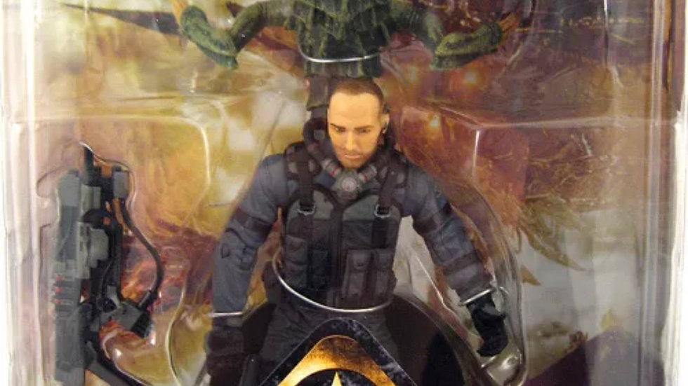 RESISTANCE NATHAN HALE SWARMER SERIES 1 ACTION FIGURE DC DIRECT PS3 VIDEO GAME