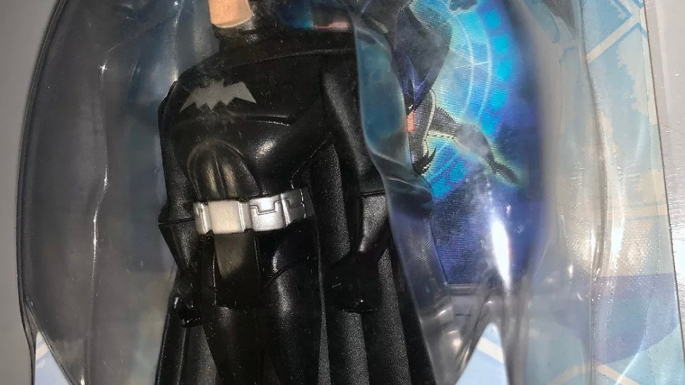 BATMAN Justice Leauge 2000 mattel Black action figure DC Comics Cartoon Animated