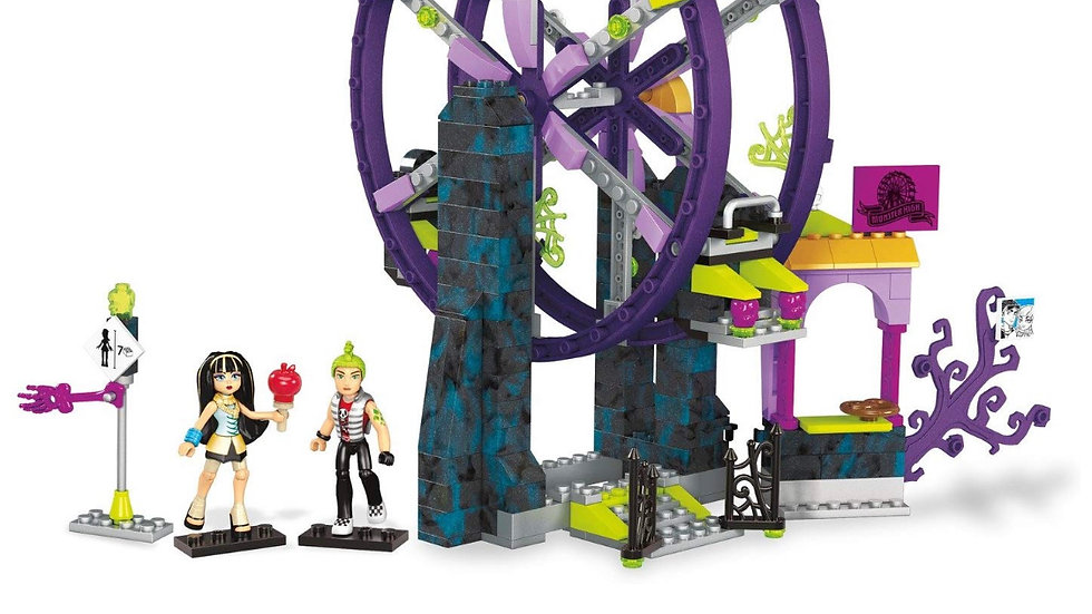 Mega Construx Monster High School Carnival Building Set Action Figure