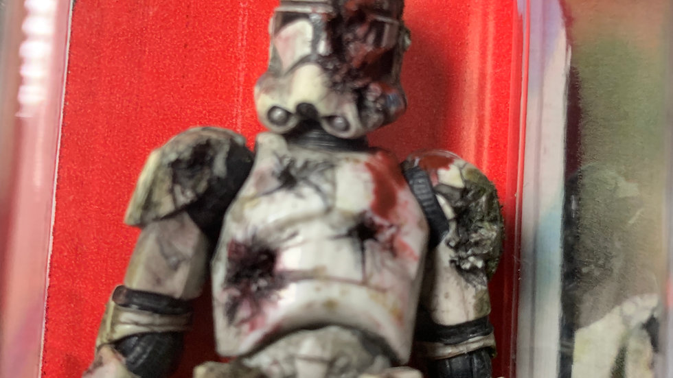 Star Wars Vintage Collection Custom Zombie Clone Trooper
