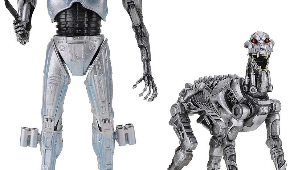 "NECA RoboCop vs The Terminator - 7"" Scale Action Figures - EndoCop/Terminator Do"