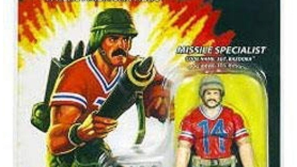 G.I. Joe 25th Anniversary Cartoon Series Cardback: SGT. Bazooka (Missile Special