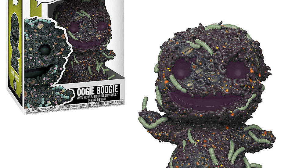 Funko Pop Disney: Nightmare Before Christmas - Oogie Boogie with Bugs Collectibl