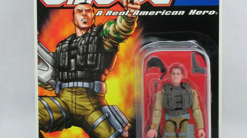 "G.I. JOE 2005 CODE NAME BARREL ROLL MARKSMAN Hasbro 3 3/4"" 3.75 American Hero"