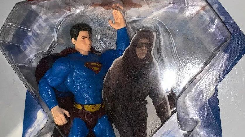 Mattel DC Comics Superman Returns Super Breath Superman Action Figure WB