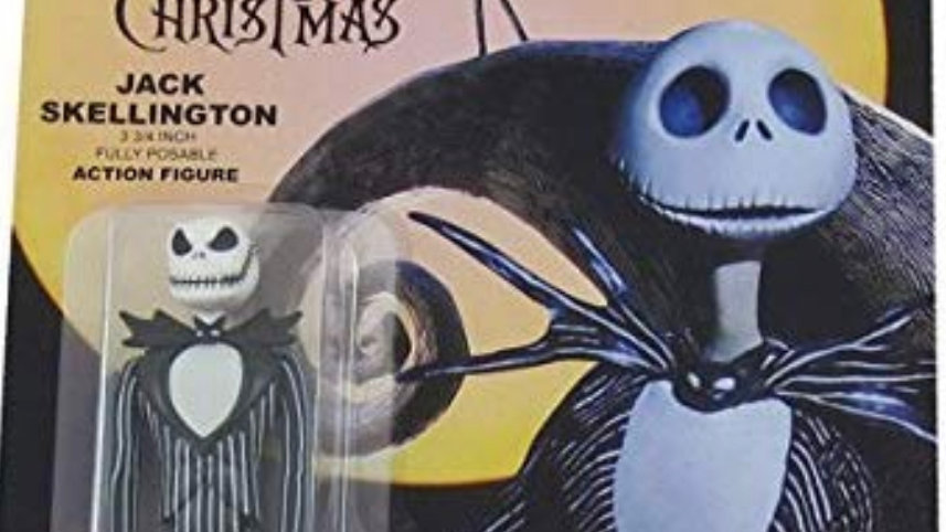 Nightmare Before XMas ReAction Grinning Jack Skellington 3.75 'Action Figure toy