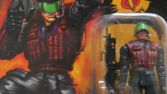 "G.I. Joe Cobra s.a.w. viper 3 3/4"" Action Figure Heavy Machine Gunner"