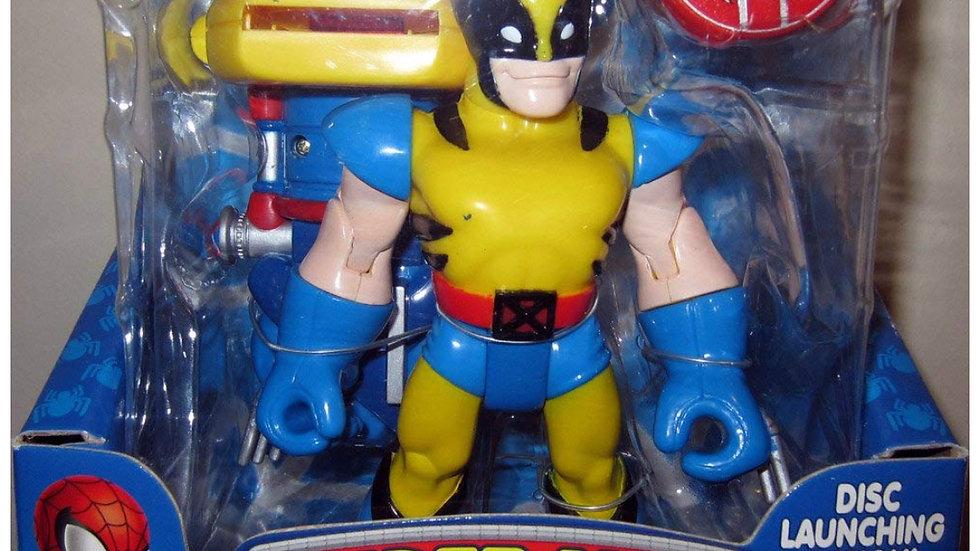 Rapid-Fire Wolverine Spider-Man & Friends Action Figure