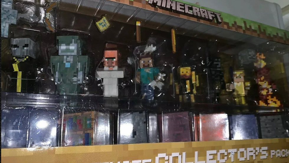 """Minecraft Ultimate Collector's Pack 25 Pieces Mojang Jazwares 2nd Edition 3"""""""