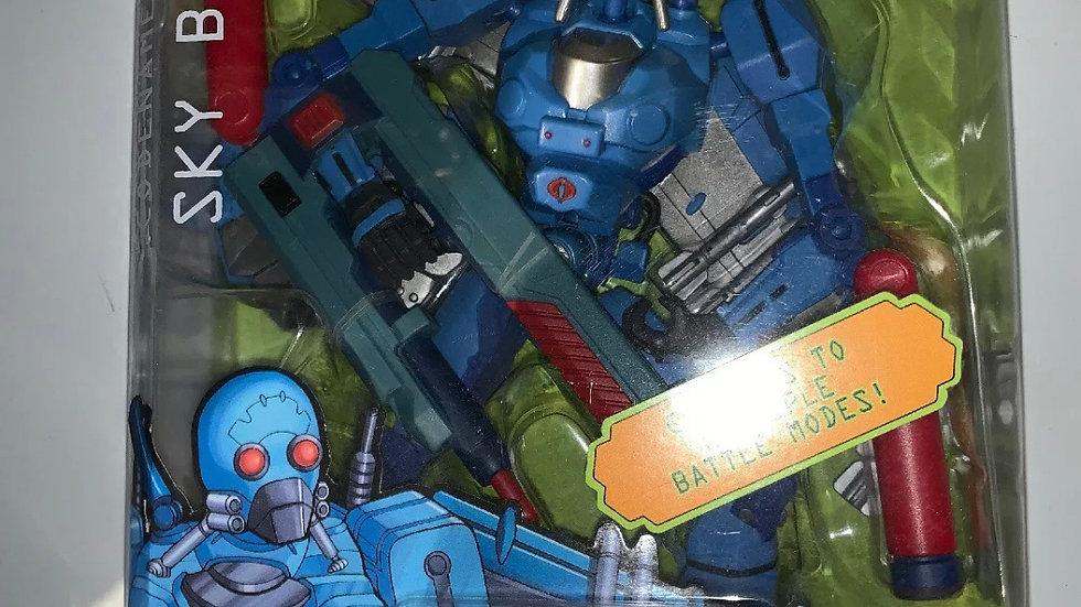 G.I. Joe codename Sky B.A.T. Cobra Action Figure GI Joe Cartoon