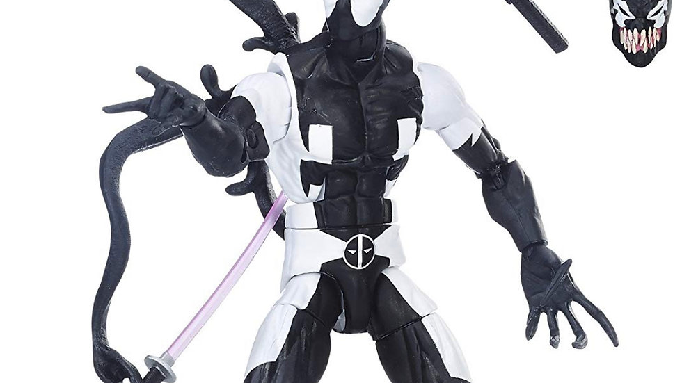"""Marvel Legends Series Back in Black 6"""" Deadpool Action Figure"""