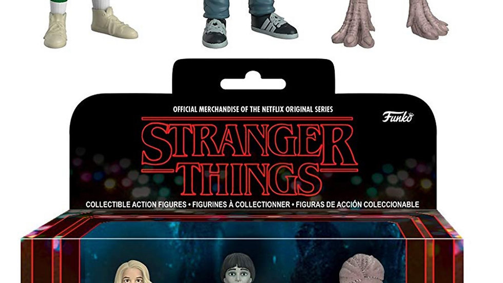 Funko Action Figures: Stranger Things Eleven Will & Demogorgan Fall Convention C