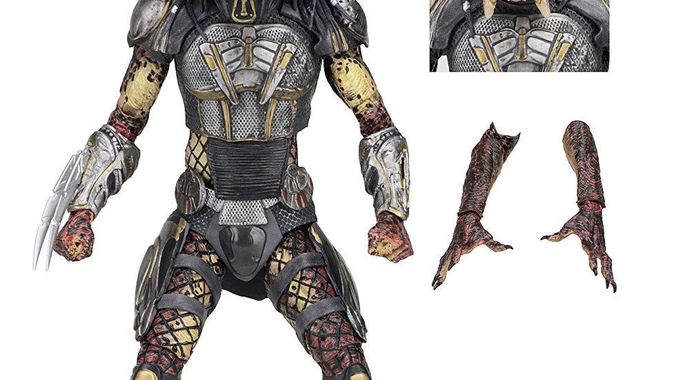 "NECA - Predator (2018) - 8"" Scale Action Figure – Ultimate Fugitive Predator"