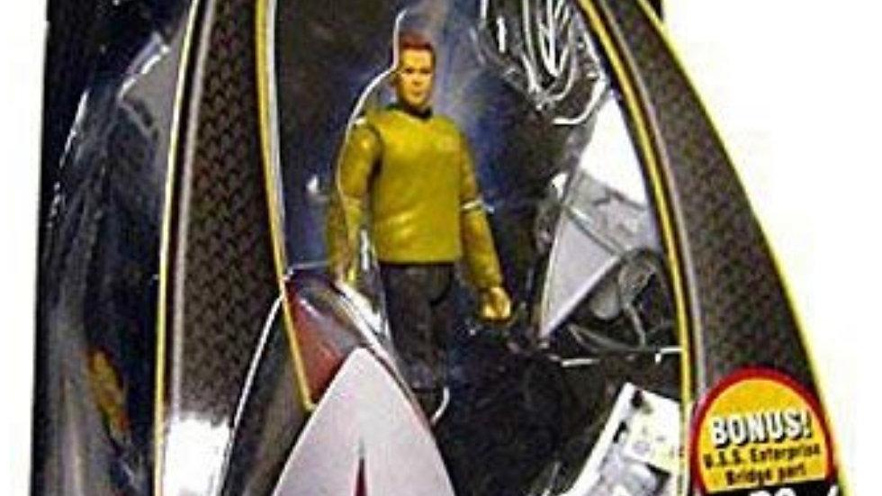 Star Trek Movie 3 3/4 Kirk Enterprise Uniform Action Figure Playmates