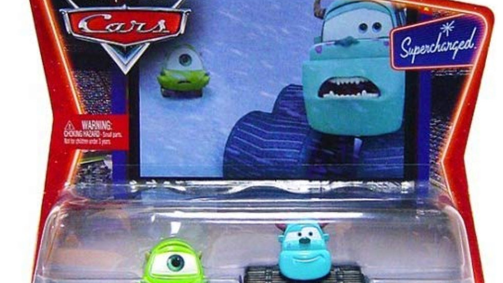 Cars Movie Moments: Mike & Sully