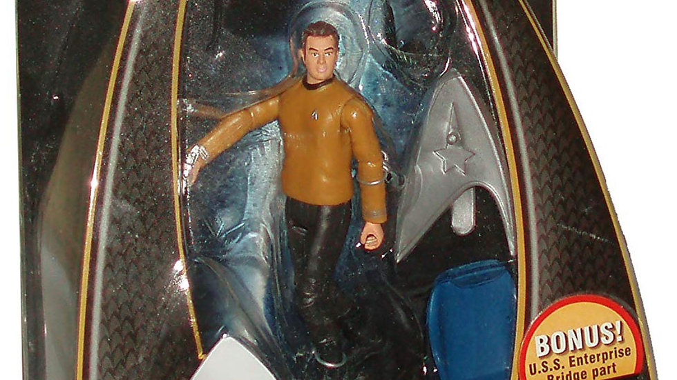 Star Trek Movie Series Galaxy Collection 4 Inch Tall Action Figure - PIKE