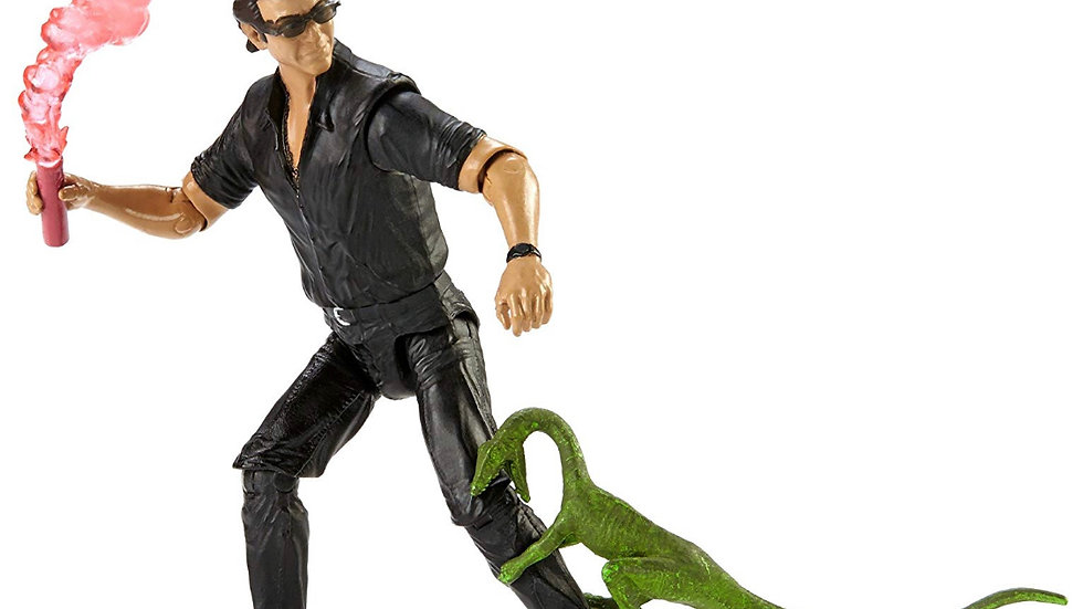 Jurassic World Legacy Collection Dr. Ian Malcolm Jeff Goldblum 3.75-inch Action