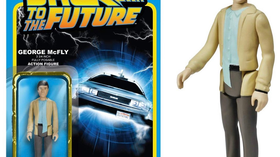 Funko Back to The Future George McFly ReAction Figure