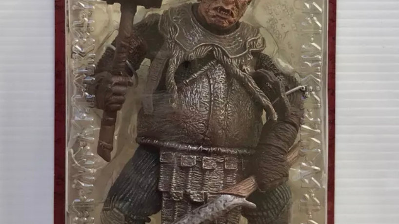 Lord of the Rings Trilogy Two Towers Action Figure Series 3 Isengard Orc Captain