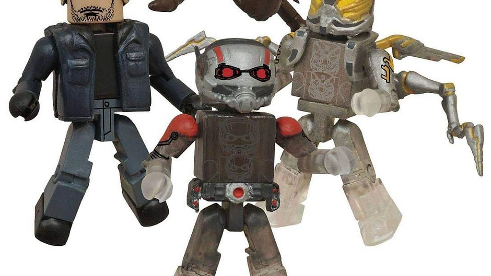 Marvel Ant-Man Minimates Box Set - San Diego Comic-Con 2015 Exclusive by Diamond