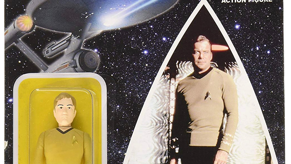 Star Trek: The Original Series Beaming Kirk Reaction 3 3/4-Inch Retro Action Fig