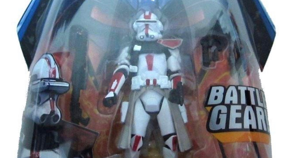 """Star Wars ROTS #33 Red Clone Commander Action Figure 3 3/4"""""""