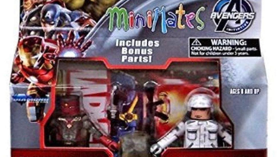 Marvel Avengers Age of Ultron Minimates Series 63 VARIANT Phasing Vision & Hydra
