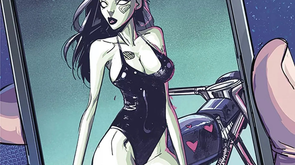 Zombie Tramp #45 uncensored Action Lab Danger Zone