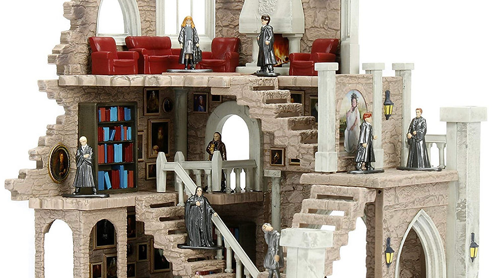 Harry Potter Nano Metalfigs Gryffindor Tower Nano Scenei