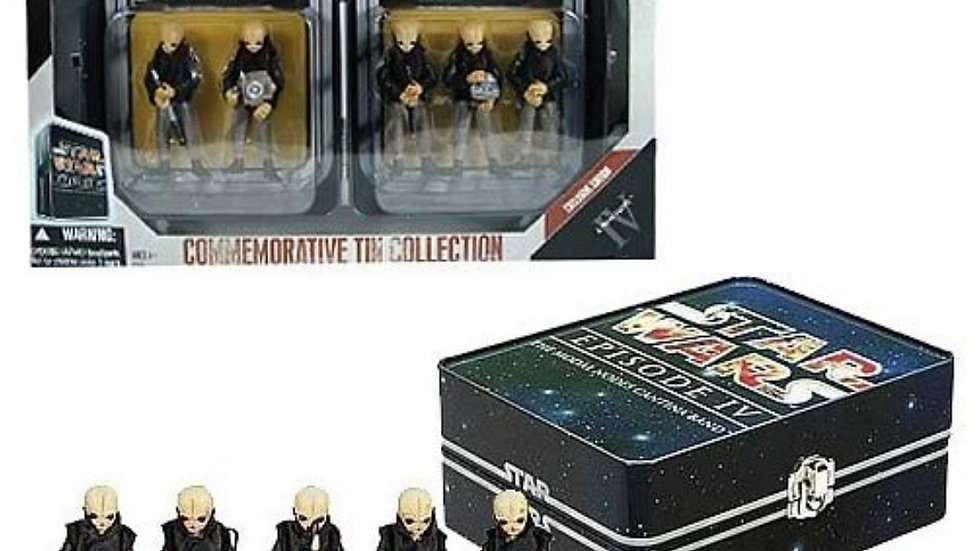 Star Wars Cantina Band Action Figure commemorative Set