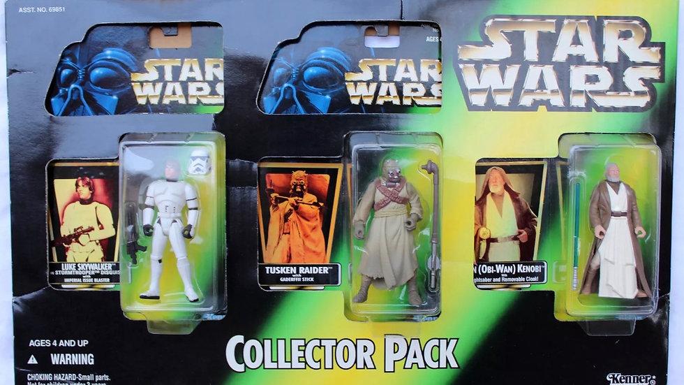 Kenner Star Wars Collector Pack with Luke Skywalker, Tusken Raider & Obi-Wan