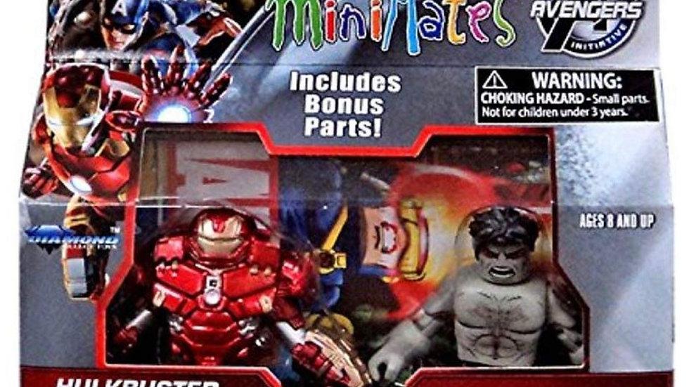 Marvel Avengers Age of Ultron Minimates Series 63 Hulkbuster Iron Man & Rampagin