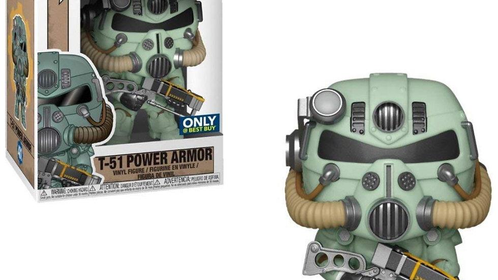 POP Funko Games 481 T-51 Power Armor Green Best Buy Exclusive