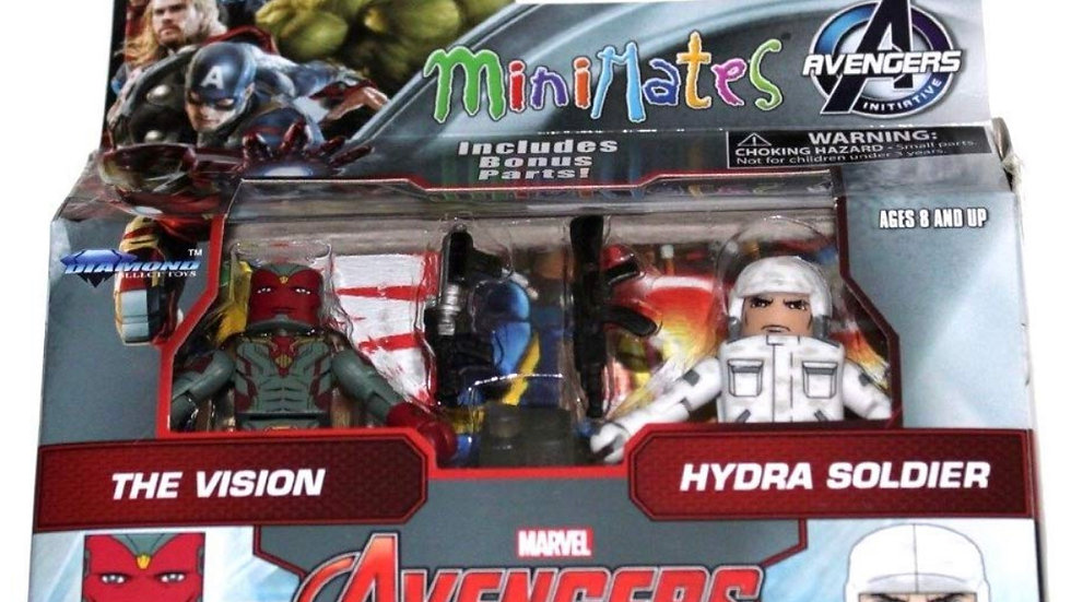 Marvel Avengers Age of Ultron Minimates Series 63 The Vision & Hydra Soldier 2""