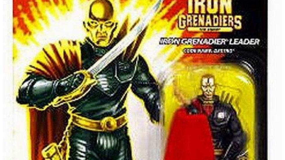 "G.I. JOE Hasbro 25th Anniversary 3 3/4"" Wave 5 Action Figure Iron Grenadier Lead"