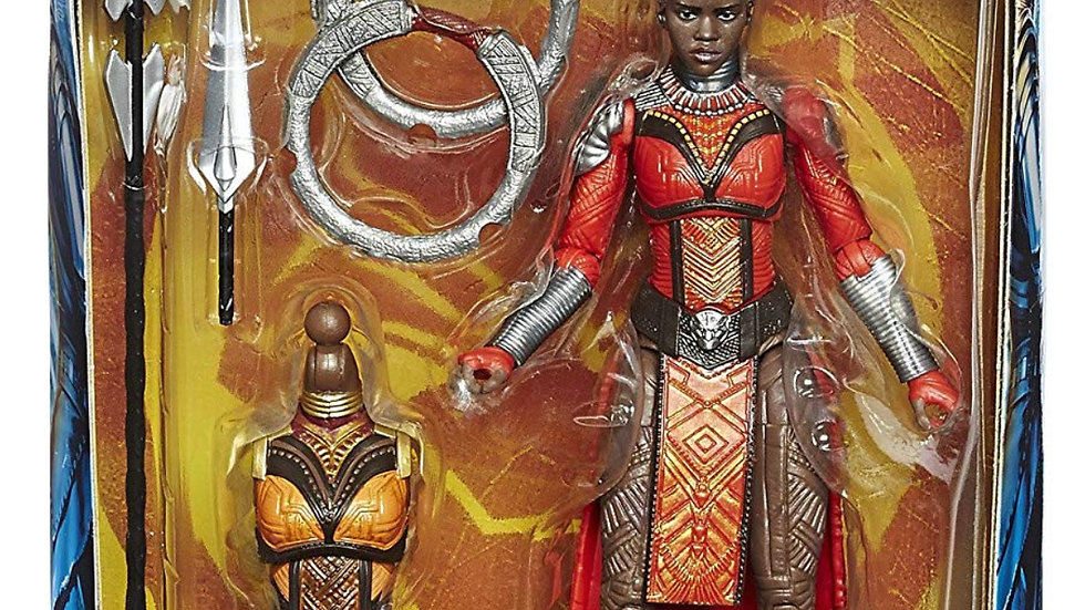 "Marvel Legends Black Panther Series Nakia 6"" Action Figure"