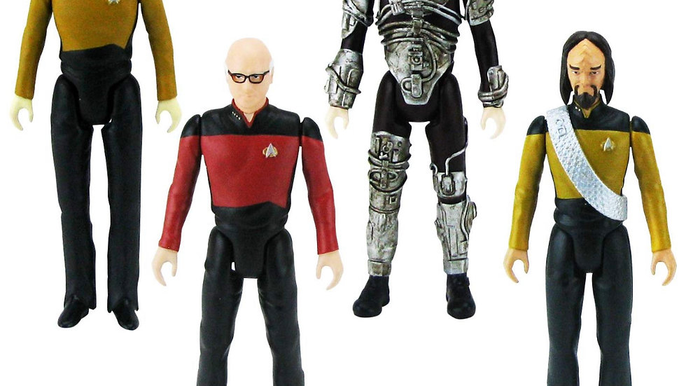 Bif Bang Pow! The Big Bang Theory/Star Trek: The Next Generation Figures Set, 3