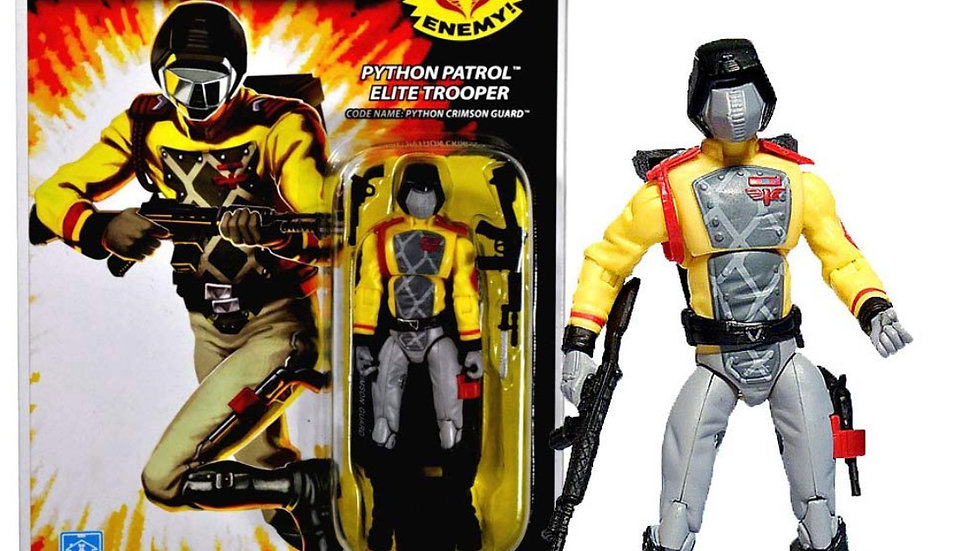 "2008 G.I. Joe A Real American Hero Series 3 3/4"" Inch Figure - Cobra Python"