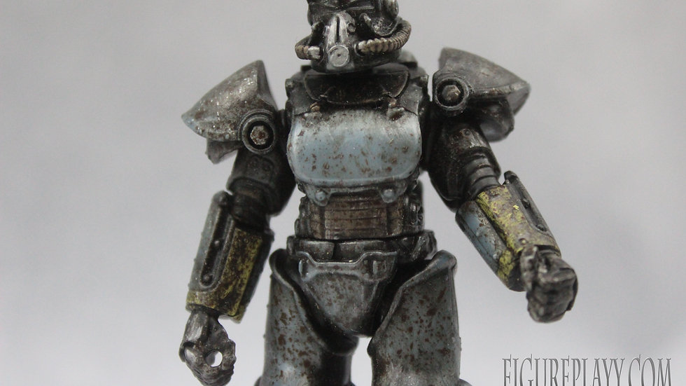 Custom Fallout video game action figure one of a kind item 4""