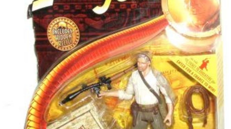 Kingdom of the Crystal Skull - Indiana Jones with Bazooka - 3-3/4 Inch Scale Act