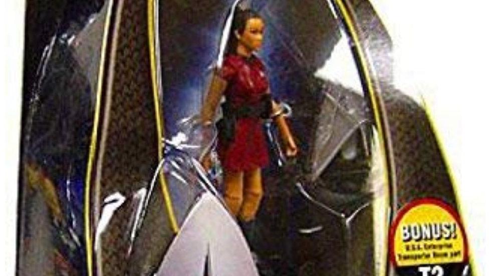 Star Trek Movie Playmates 3 3/4 Inch Action Figure Uhura (Enterprise Uniform)