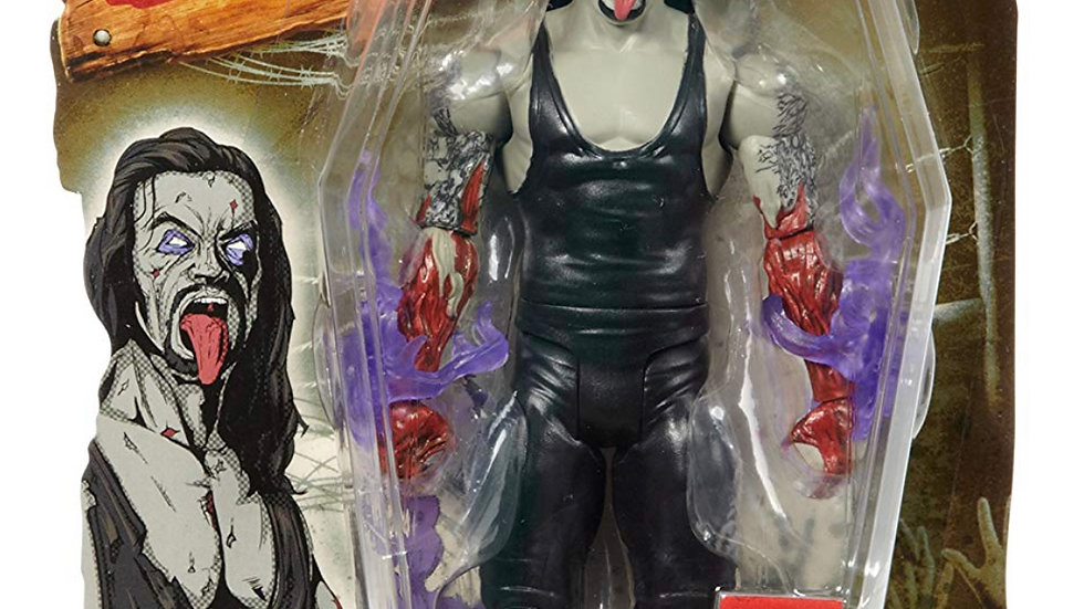 """WWE WWF Zombies Zombified The Undertaker  7"""" Wrestling Action Figure"""