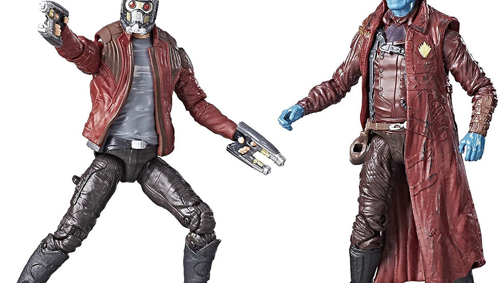 Marvel Legends 3.75 Inch Guardians of the Galaxy Star Lord and Yondu Action Figu