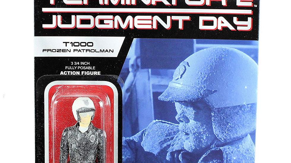 "Funko Reaction: Terminator 2  T-1000 Frozen Patrolman 3 /4"" Action Figure"