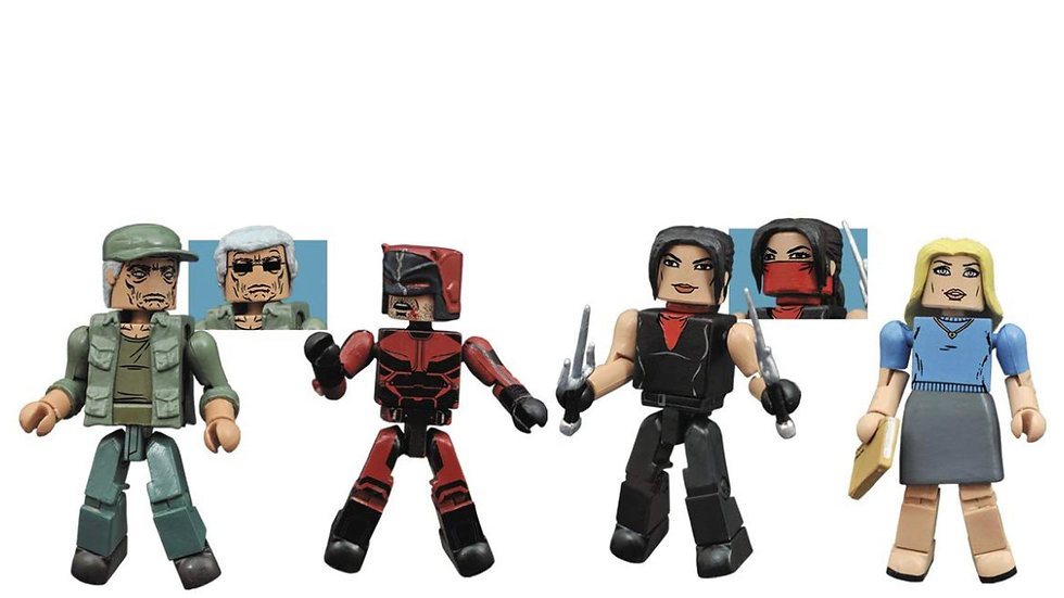 Diamond Select Toys Marvel Minimates Daredevil Season 2 Box Set
