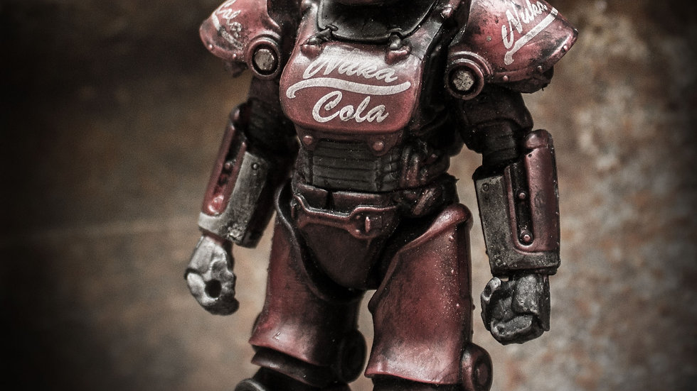 Custom Fallout Nuka Cola T-51 Power Armor 10 SERIES 2 MEGA MERGE VAULT-TEC 76