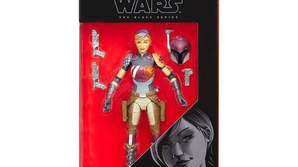 Star Wars Black Series - Sabine Wren​​​​​ 6 Inch Action Figure​​