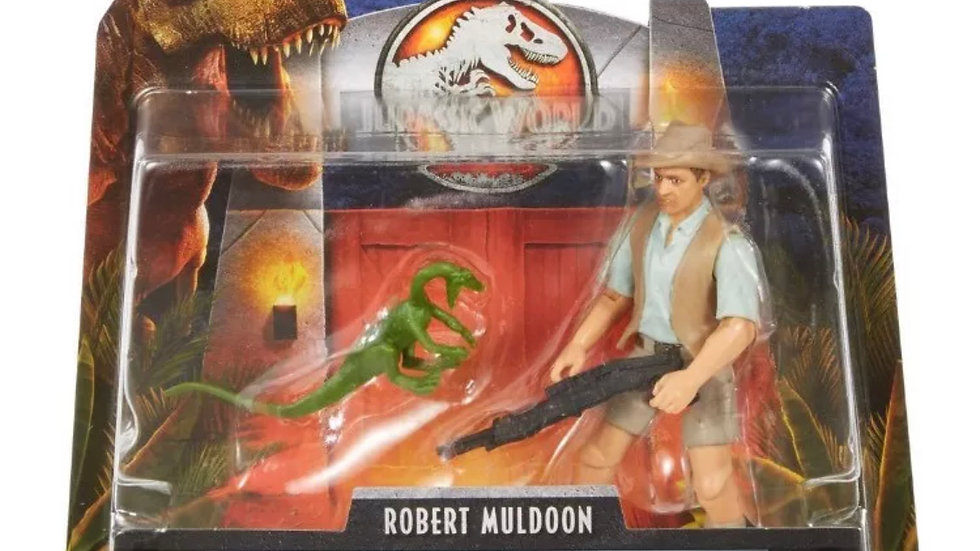 "Jurassic World Legacy Collection Robert Muldoon 3 3/4"" Action Figure"