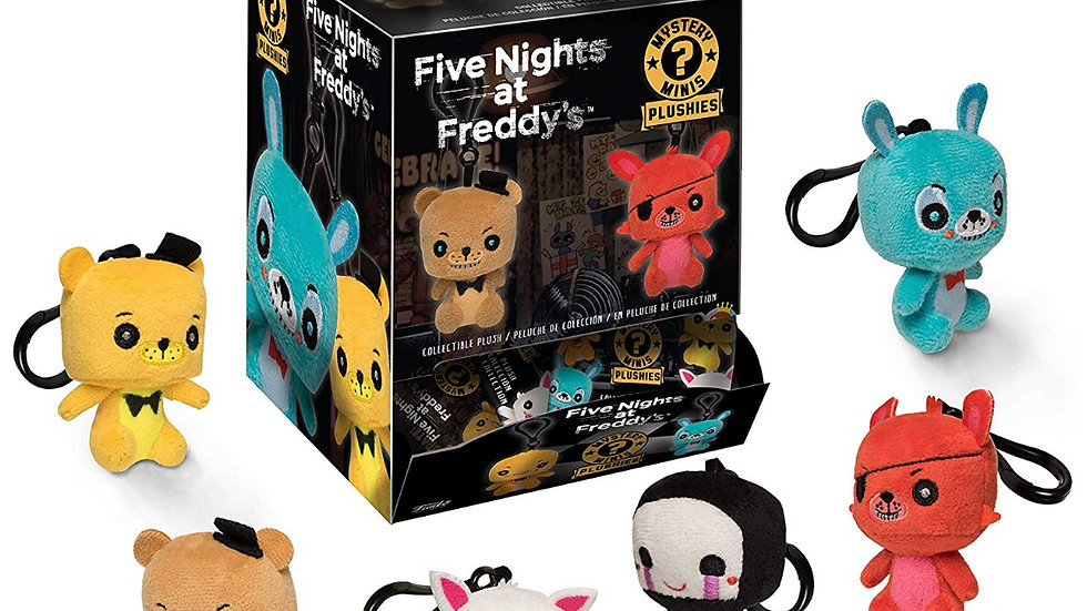 Funko Blind Bag Plush Keychain: Five Nights at Freddy's - One Mystery Figure Col